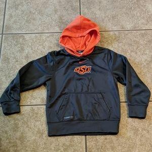 Nike OSU pullover hoody, sz small (7/8) euc